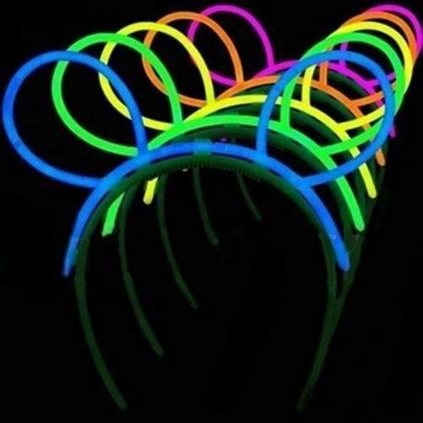 Diademas glow